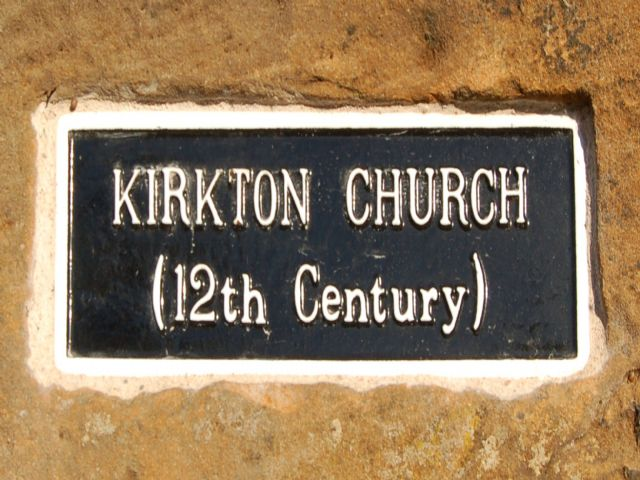 Replaced cast-iron sign